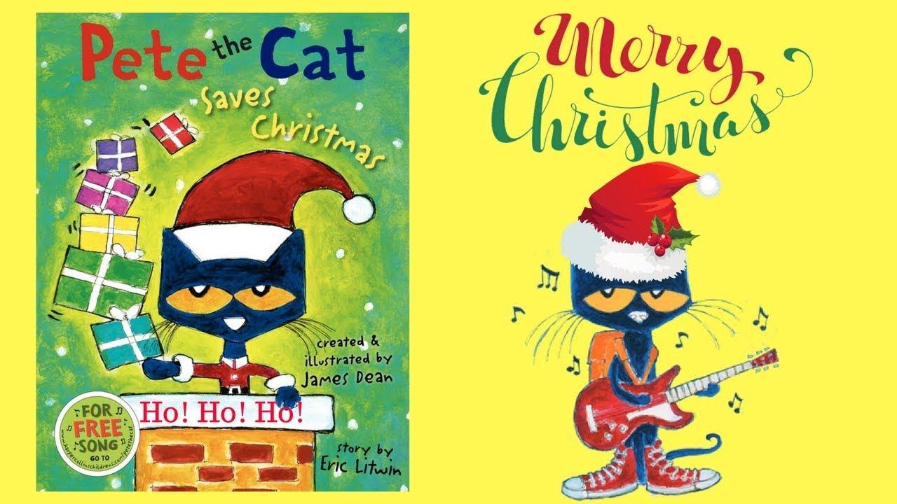 pete the cat saves christmas story book read aloud audio 2017 - Pete The Cat Saves Christmas
