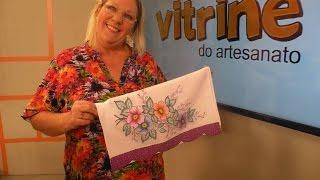 Pintura de Ramos de Flores com Canetinha com Márcia Caires
