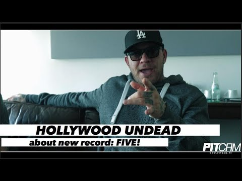 HOLLYWOOD UNDEAD  Interview about new record FIVE  wwwpitcamtv