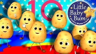 One Potato Two Potato | Numbers Song | from LittleBabyBum!