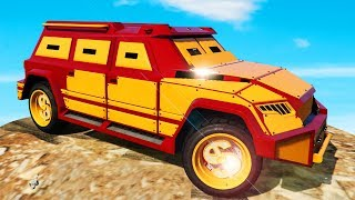 NEW ARMORED INSURGENT 2.0! (GTA 5 Funny Moments)