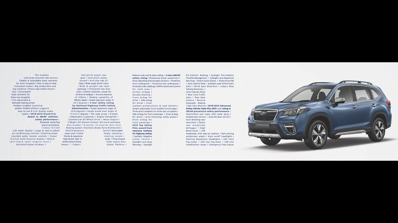 2020 Singapore Motor Show (Subaru EyeSight Driver Assist Technology)