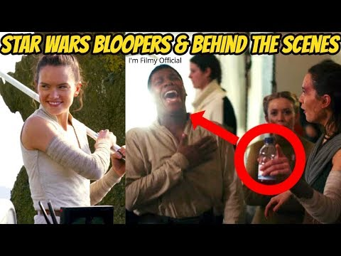 Star Wars: The Last Jedi Bloopers, B-Roll and Behind the Scenes - Daisy Ridley 2017