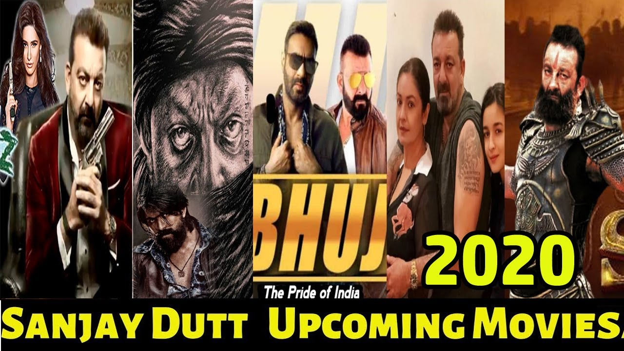 Sanjay dutt's Upcoming hindi movies 2020 2021 - YouTube