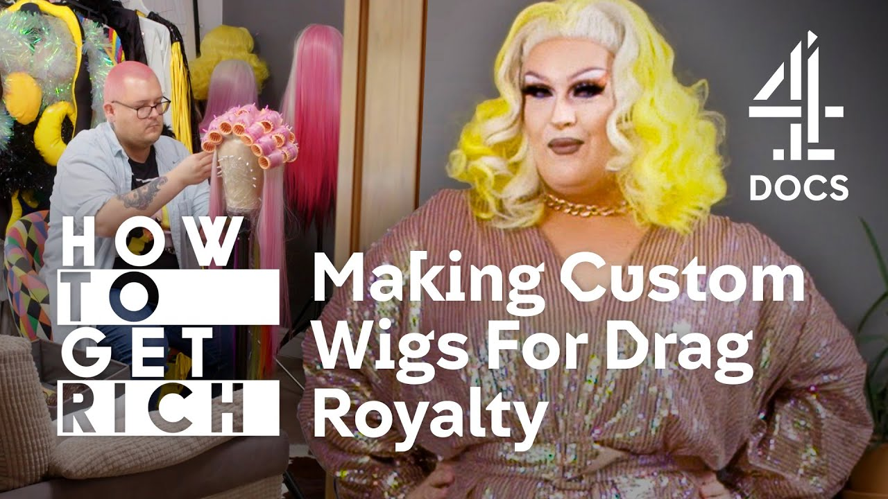 I Went From Washing Dishes To Dyeing Synthetic Wigs For Drag Royalty   How To Get Rich