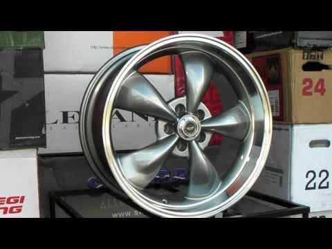 Www.DUBSandTIRES.com American Racing Torq Thrust Wheels AR105 105 Gunmetal Grey Muscle Car Rims