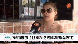 """""""Es mi domicilio, y yo en mi casa hago lo que quiero"""" habló la dueña del after de barrio San Nicolás"""