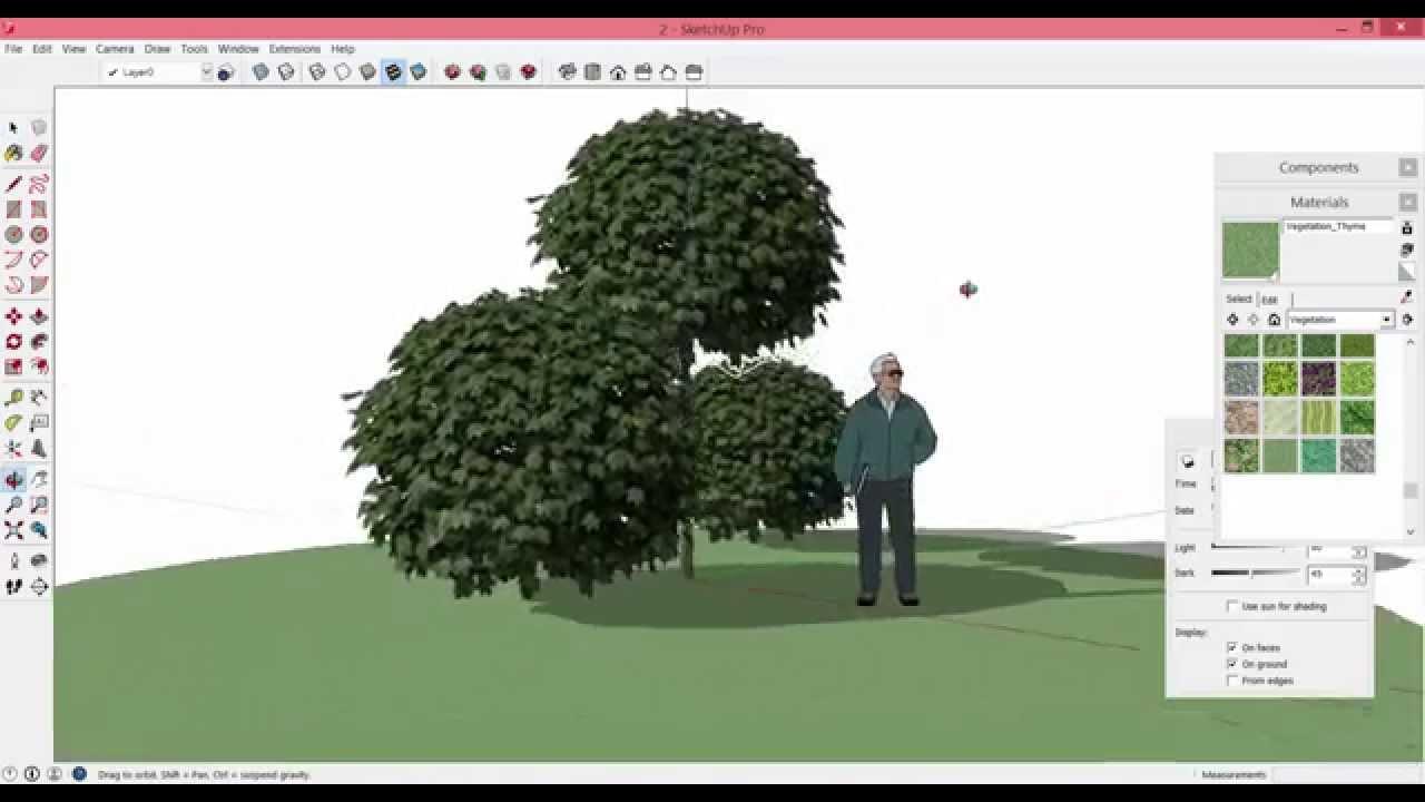 как сделать фото в sketchup
