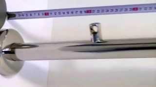 Стойка фланец Ф100 с дек. крышкой, крепежом 3-мя бочатами(элементы ограждений http://www.bleskmet.ru/stoyka-flanec-f100., 2015-01-13T16:32:51.000Z)