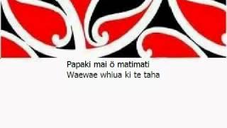 Waiata Tamariki - Papaki Mai