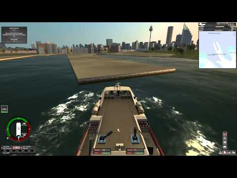 SHIP SIMULATOR EXTREMES DEMO HD 1080p GREEK COMMENTARY