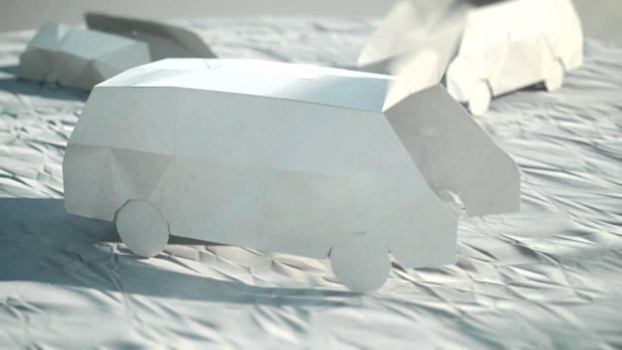 paper folding C4D