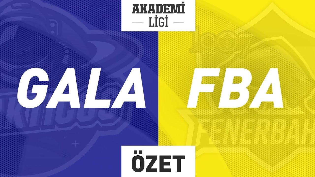 GALAKTICOS A ( GALA ) vs 1907 Fenerbahçe Espor A ( FBA ) Maç Özeti  Videosu