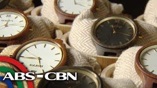 Relong gawa sa kahoy, dinisenyo ng Pinoy | Bandila