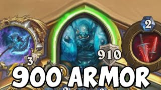 900 Armor Warrior in Ranked Hearthstone
