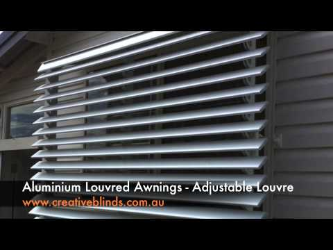 Creative Blinds & Awnings Aluminium Louvre Awning Evans Head