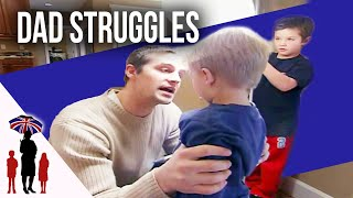Parents struggle to discipline out of control children....Supernanny USA