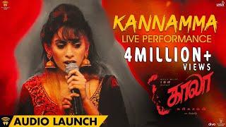 Kannamma Live Performance at Kaala Launch | Rajinikanth | Pa Ranjith | Santhosh Narayanan