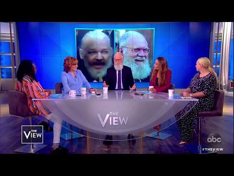 The Story Behind David Letterman's Beard | The View - YouTube