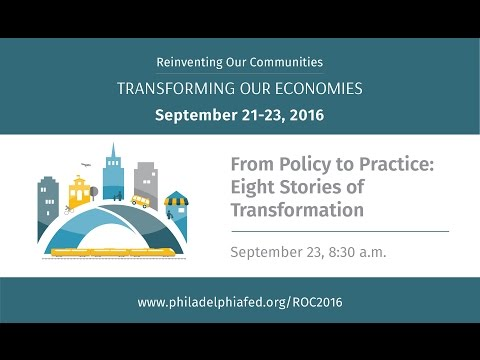 Reinventing Our Communities   From Policy to Practice  Eight Stories of Transformation