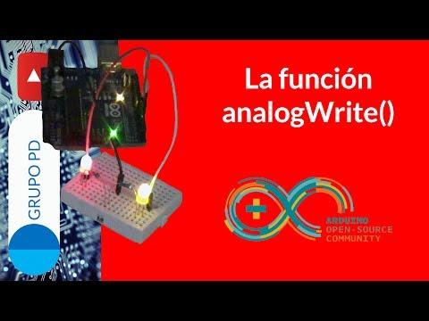 TUTORIAL ARDUINO - La Función AnalogWrite