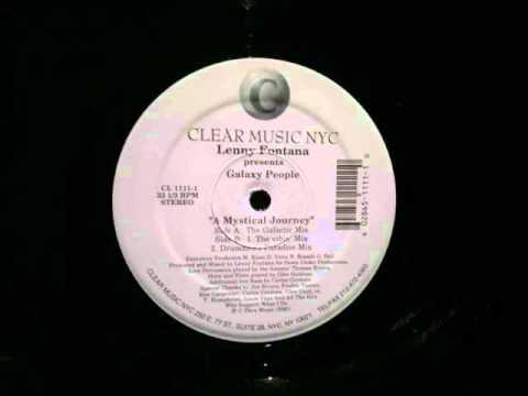 Lenny Fontana.Galaxy People.Mystical Journey.Galactic Mix.Clear .