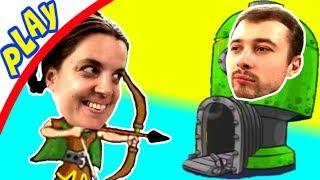 БолтушкА и ПРоХоДиМеЦ ищут НОВЫХ Героев для ЗАЩИТЫ БАШНИ! #10 Игра для Детей Tower Conquest