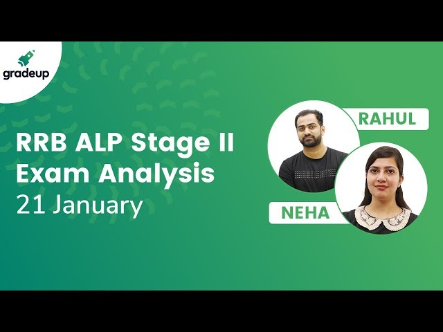 RRB ALP Exam Analysis (Stage 2) 21st Jan 2019: Questions asked in Exam