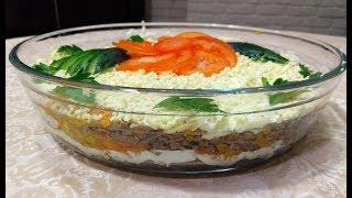 Печеночный салат «Сытный»