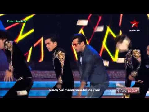 Salman Khan performs 'Baaki Sab First Class Hai' at BSEA 2013 !