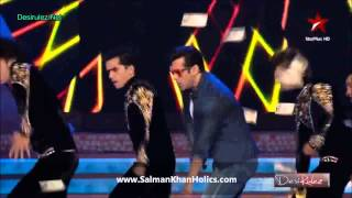 Salman Khan performs