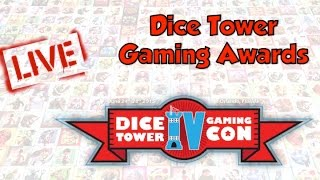 Dice Tower Con 2015 LIVE - Dice Tower Gaming Awards
