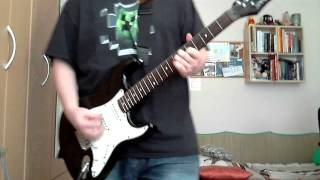 SkillJam Snake Eyes Feint Feat CoMa Guitar Cover