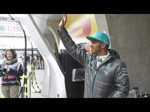 Hat Trick For Lewis Hamilton In Mercedes One Two In Shanghai MUST SEE