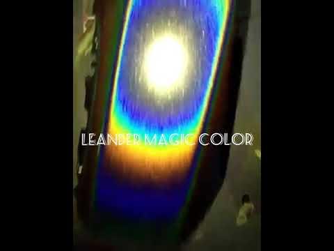 5 warna pelangi holographic paint