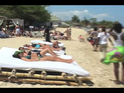 Bamboo Beach Club Jamaica Relaxing At The