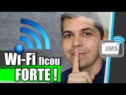UM ROTEADOR COM SINAL WiFi MUITO FORTE - Wireless