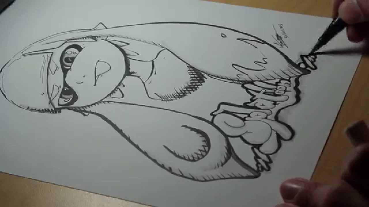 Inkling Splatoon Drawing