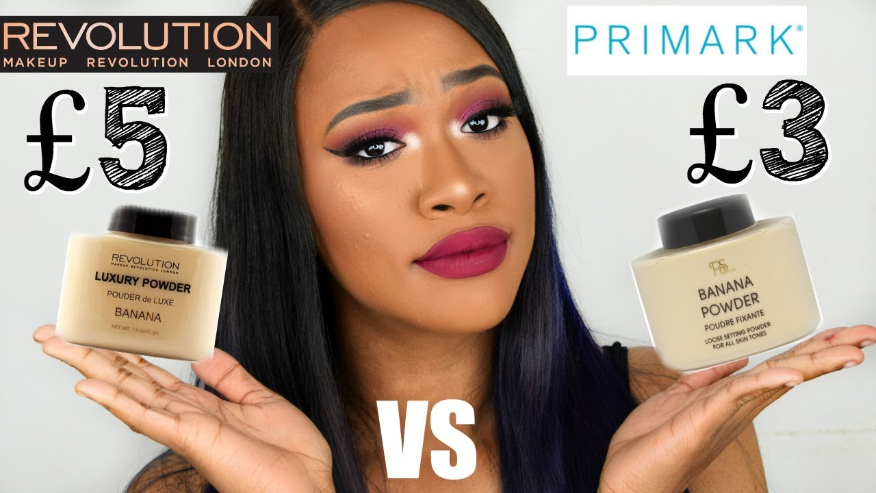 PRIMARK VS MAKEUP REVOLUTION BAKING POWDER.