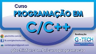 Repeat youtube video Curso de Programação em C/C++ - Aula 10 - Manipulação de Strings e biblioteca String.h