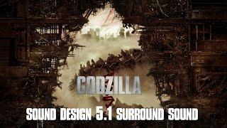 Godzilla Movie - Sound Design Demo Reel Omid Ghajar (5.1 Surround)