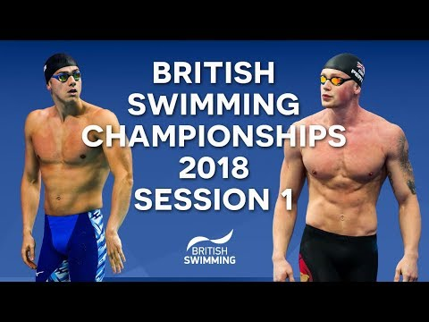 EISM inc. British Swimming Championships 2018 - Session One