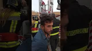 Simona Quadarella vigile fuoco