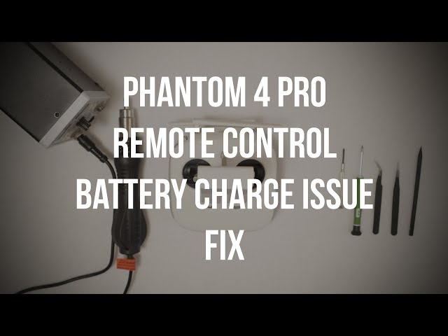 FIXED!  DJI Phantom 4 Pro Remote Control Battery Charge Issue [Disassembly, Repair, Reassembly]