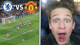 CHELSEA vs MANCHESTER UNITED!!! ALVARO MORATA AMAZING GOAL and HIGHLIGHTS!