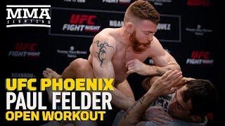 UFC Phoenix: Paul Felder Open Workout Highlights - MMA Fighting