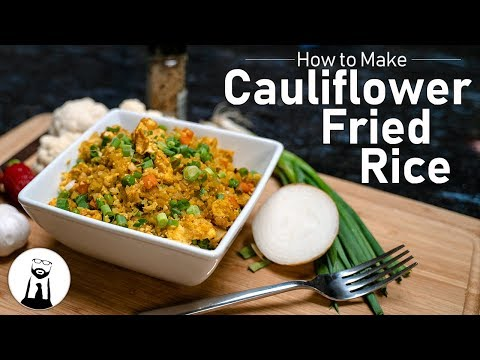 How to Make Cauliflower Fried Rice | Keto, Low-Carb