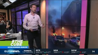 #TheCube | Dozens of cars have been set alight in Sweden in what has been called an arson attack.