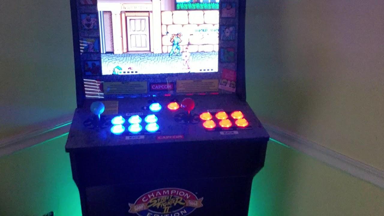 Arcade1up Mame Joystick Buttons Speaker Retropie Mod