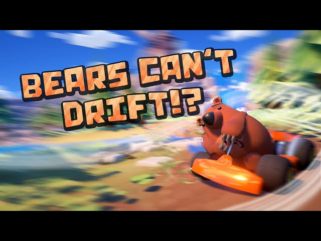 Bears Can't Drift!? Trailer